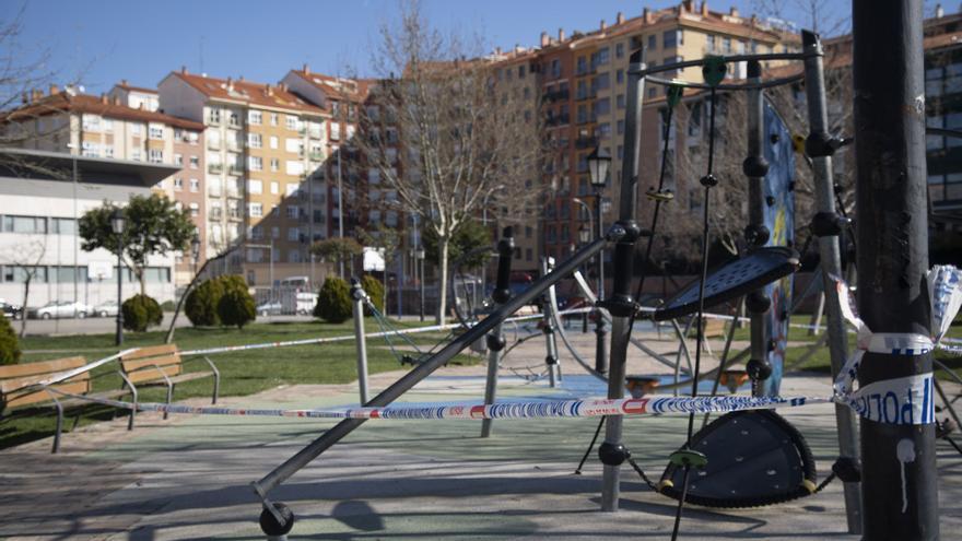 Zamora cierra sus parques infantiles: estos son los que permanecen abiertos