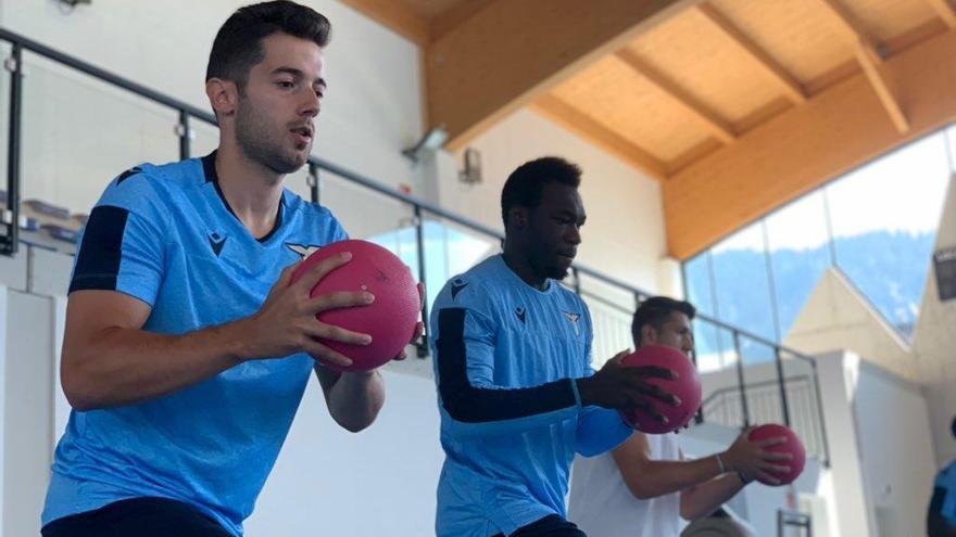 El Lazio presenta el contrato de Jony ante la liga italiana