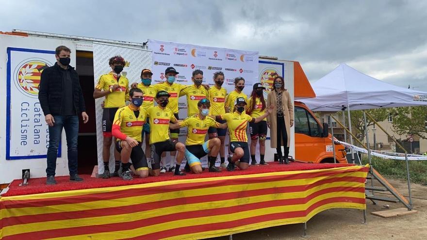 Més de 300 ciclistes a l'Open BTT i la Kids Cup Girona a la Jonquera