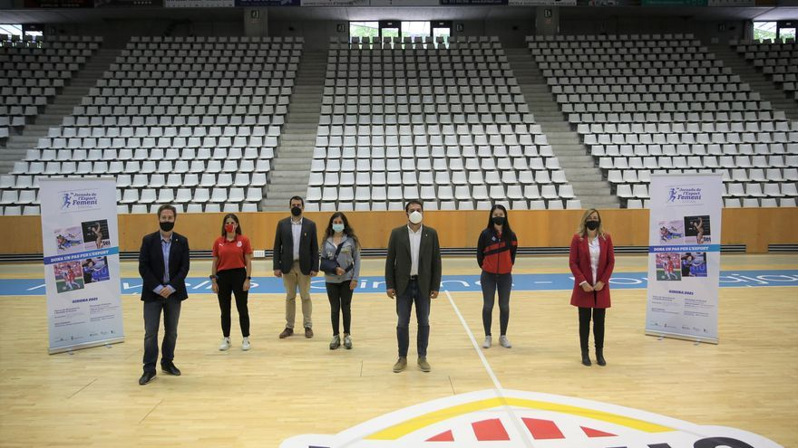 Girona recupera la Jornada de l'Esport Femení