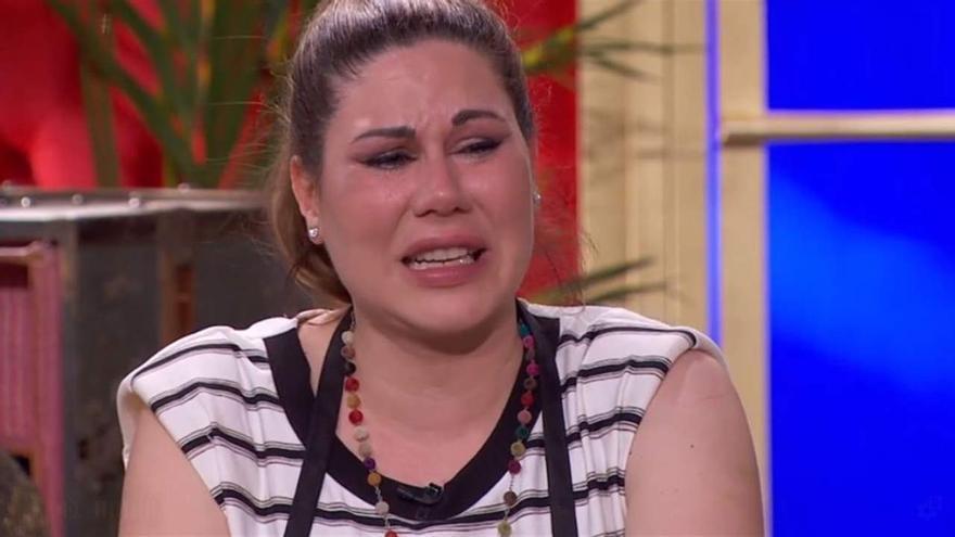 La cantante Tamara, derrumbada, habla de su complicadísima situación en 'MasterChef 6'