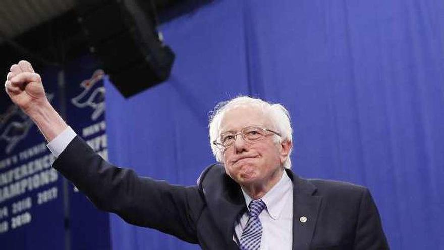 La victoria de Sanders en Nuevo Hampshire le consolida como líder de la izquierda demócrata