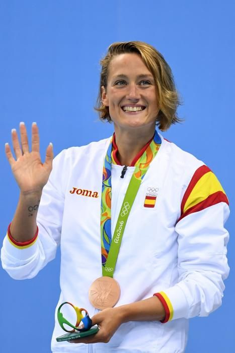 Mireia Belmonte: Bronce en natación 400m combinado