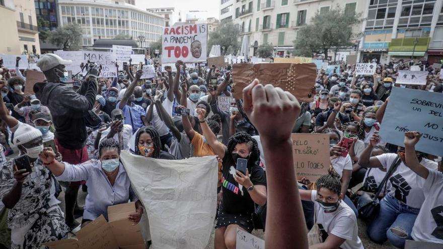 Auch Palma demonstriert gegen Rassismus