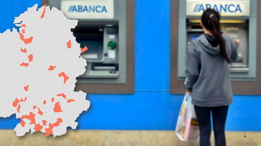 """La Xunta da a Abanca los cajeros en zonas sin oficina y pide """"más responsabilidad"""" con los cierres"""