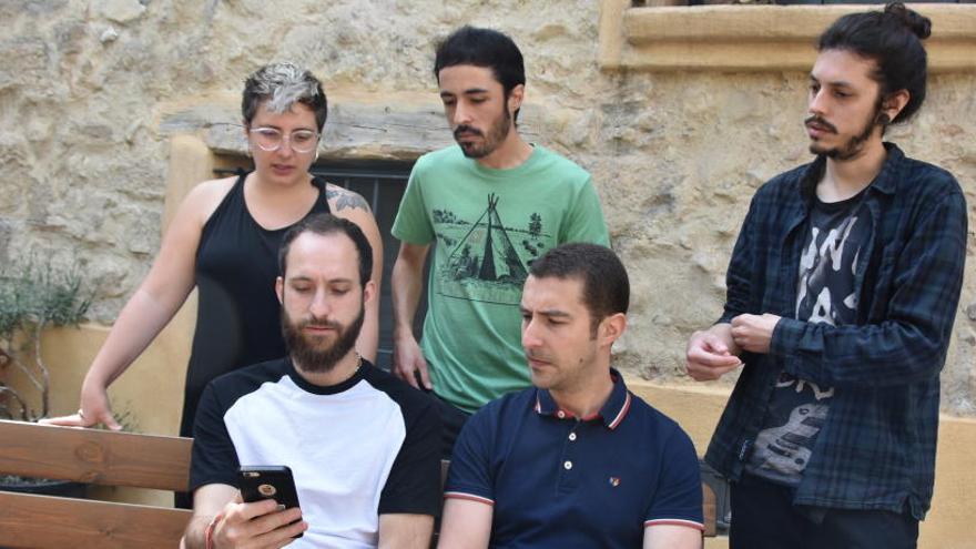 Berga estrena una aplicació  per saber en temps real la ubicació dels salts de La Patum