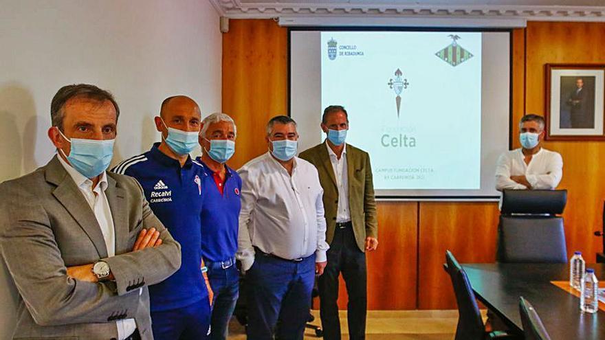 Campus del Celta y Azero 2021 en Ribadumia