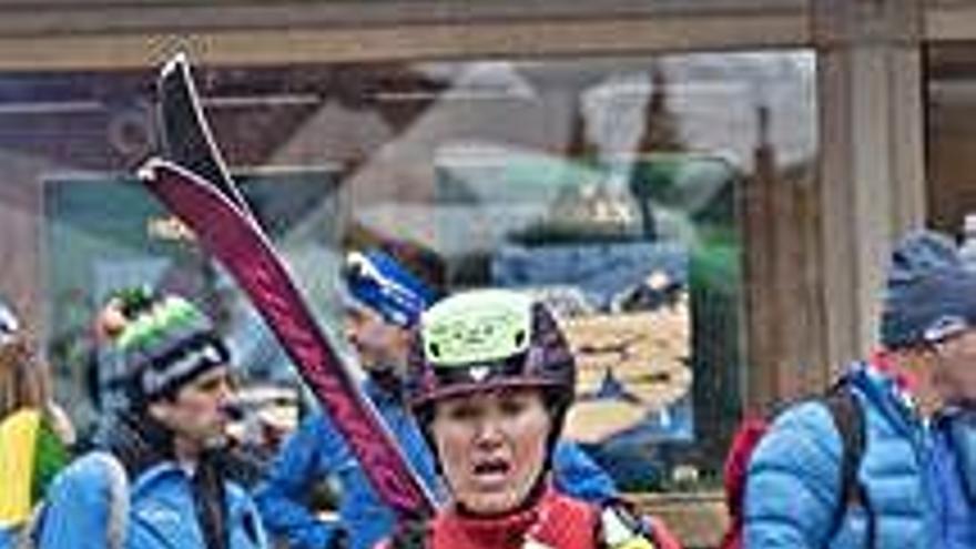 Clàudia Galícia obté el títol de la Copa del Món d'esquí de muntanya