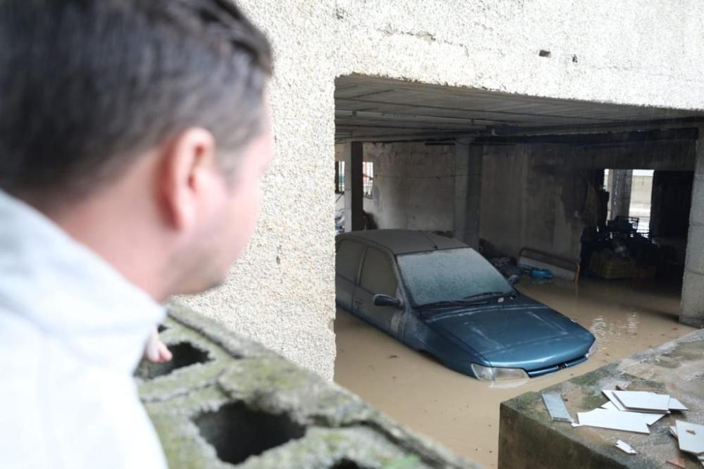 El temporal ha inundado calles, sótanos y garajes.