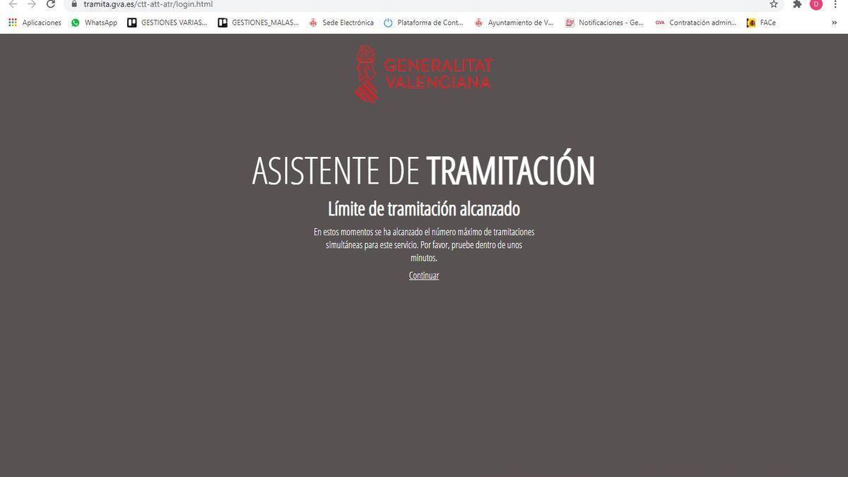 La web para pedir ayudas al sector del ocio de Castellón se colapsa por el elevado número de peticiones
