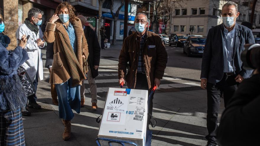 La vacunación con Pfizer continúa en Zamora para los más mayores