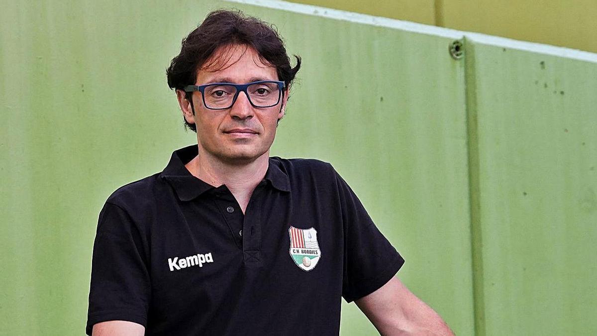 Pau Campos deixarà la banqueta del Bordils després d'onze temporades en dues etapes.   MARC MARTÍ