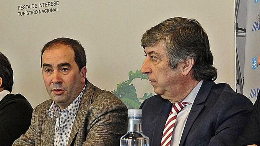 Antonio Rodríguez Troitiño e Iván Corral. |  // BERNABÉ/JAVIER LALÍN