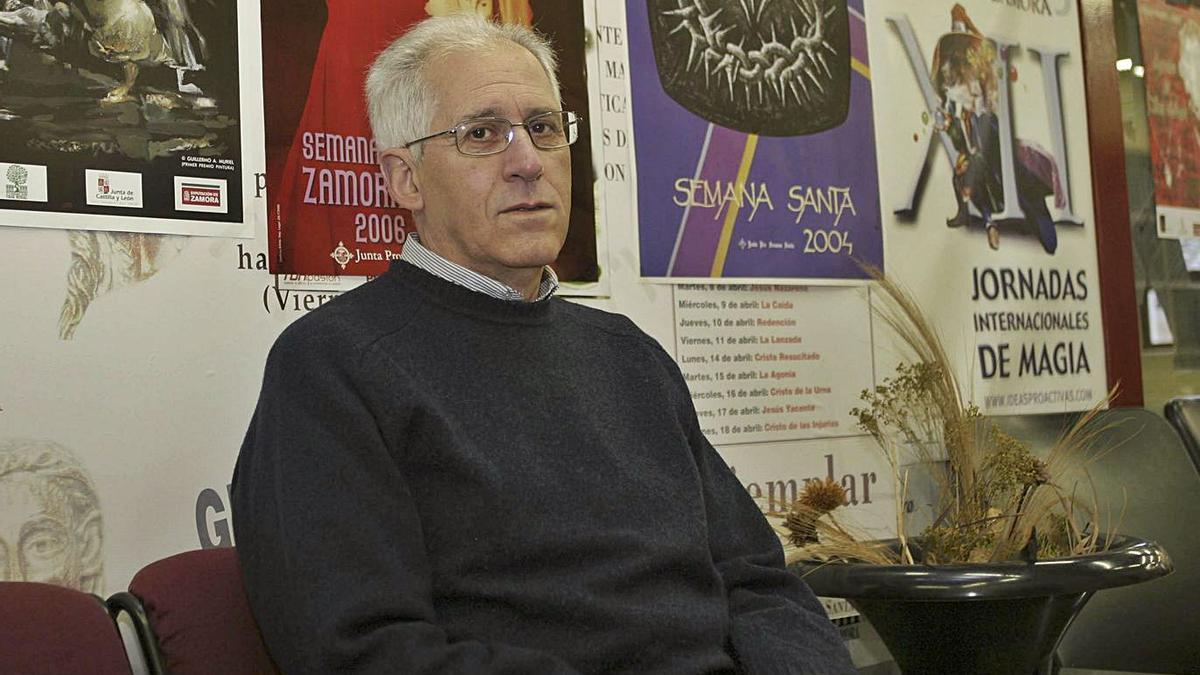 José Antonio Prieto, durante una visita a La Opinión-El Correo. | L. O. Z.