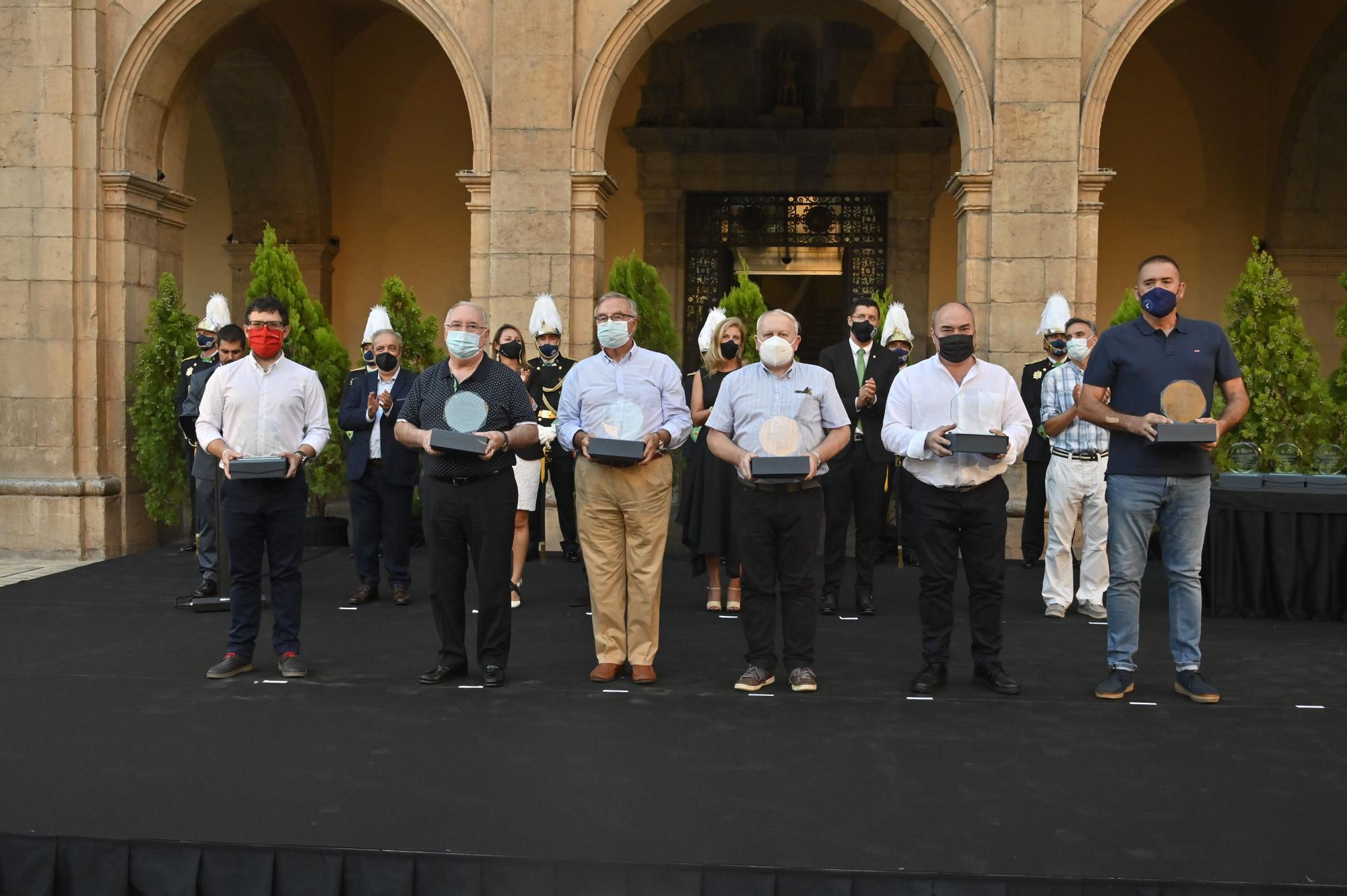 Las imágenes del homenaje a las víctimas del covid