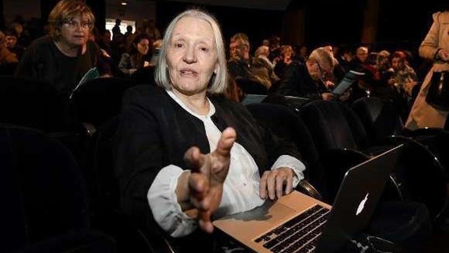 "Saskia Sassen critica la ""brutal"" política migratoria de Trump al inaugurar la SGF"