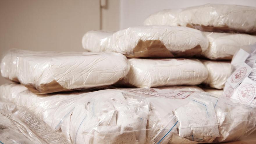Desaparece un kilo de cocaína de una comisaría de los Mossos d'Esquadra en Girona