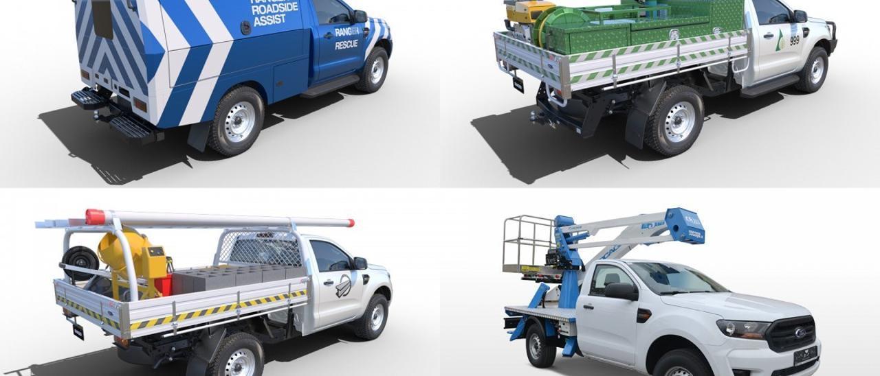 Ford Ranger Chasis-Cabina, el vehículo base para preparaciones más versátil