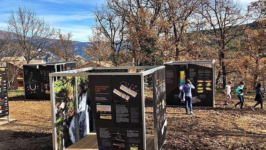 Vallcebre i el parc natural estrenen un museu a l'aire lliure sobre la geologia