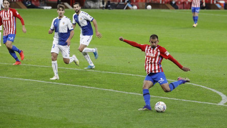 Gaspar devuelve al Sporting al camino de la victoria