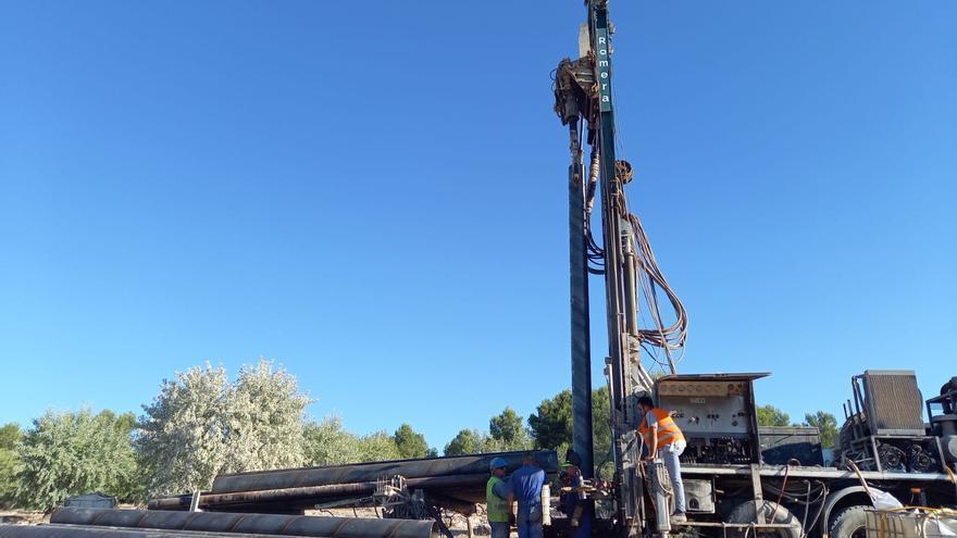 Finalizan las obras de perforación de un nuevo pozo de agua en Utiel
