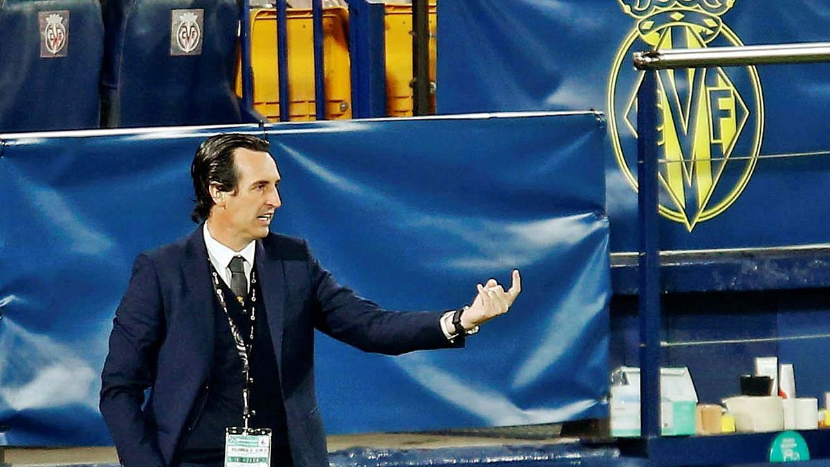 """El entrenador del Villarreal, Unai Emery, ha dado un nuevo empaque al """"Submarino Amarillo"""". / EFE/ Domenech Castelló"""