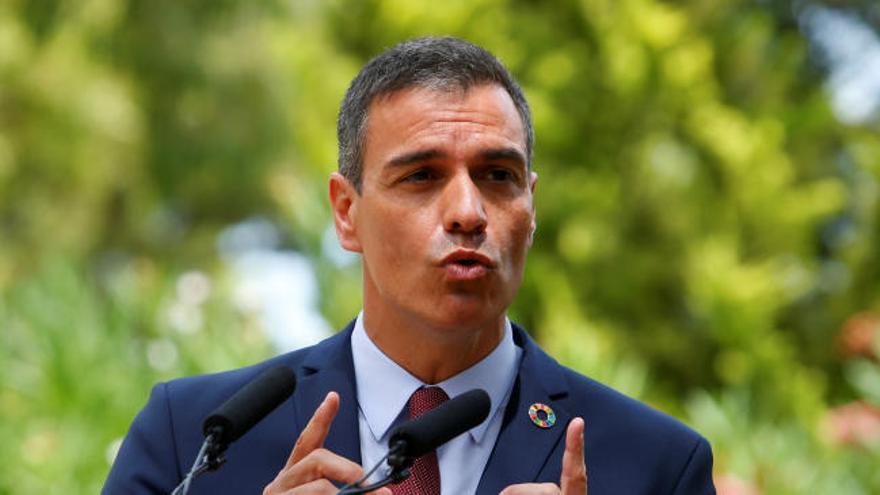 Sánchez elude pronunciarse sobre la imputación de Podemos