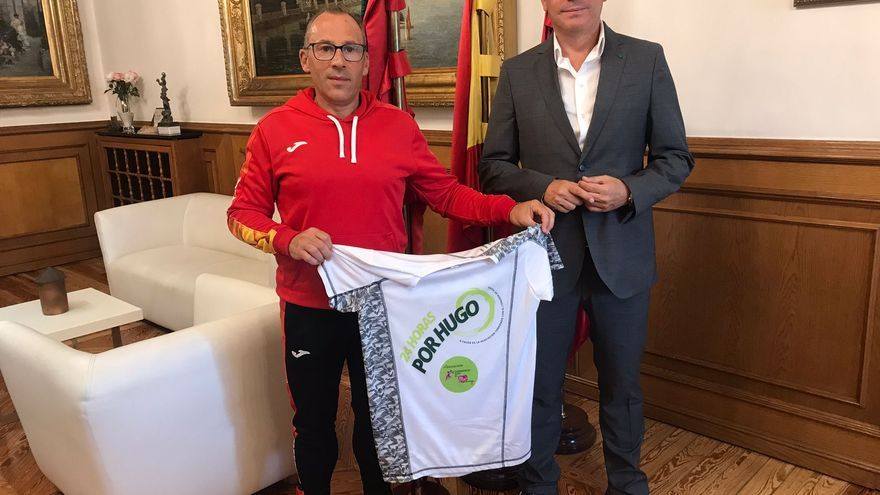 La Diputación de Zamora presta su apoyo a Gaspar Cadenas en su reto atlético