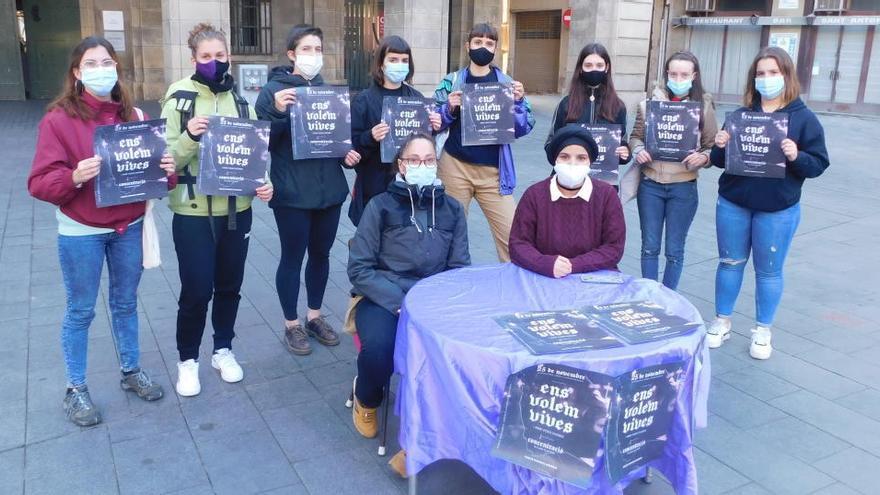 25-N: Manresa tindrà una concentració contra la violència masclista en lloc d'una manifestació