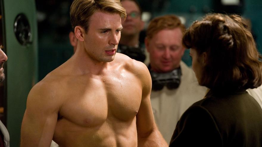 La dieta de Chris Evans para lucir su espectacular físico en Capitán América
