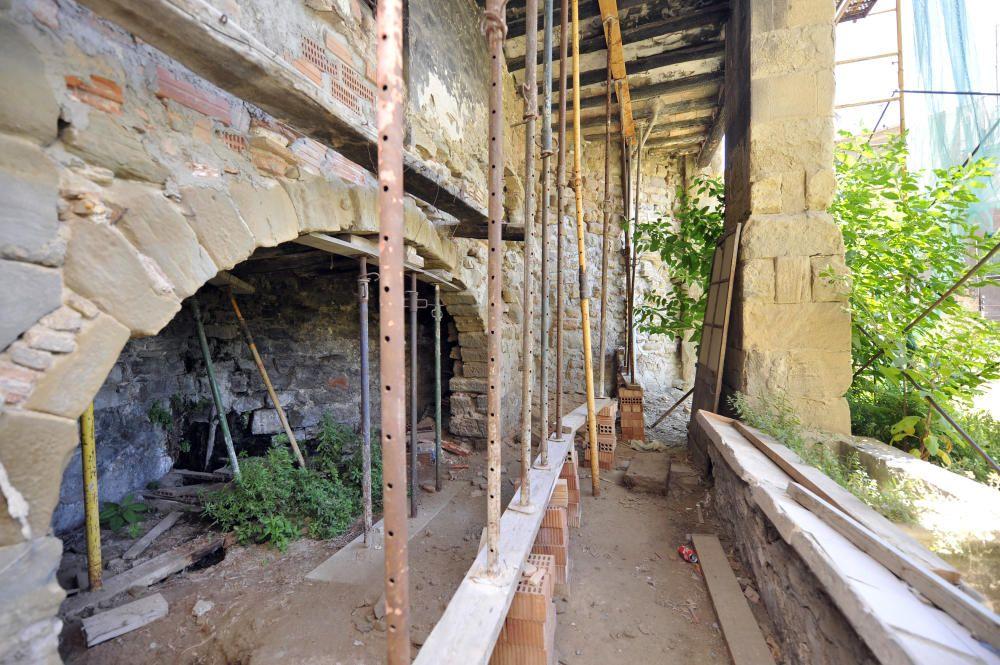 L''antiga Fonda de Sant Antoni, per dins