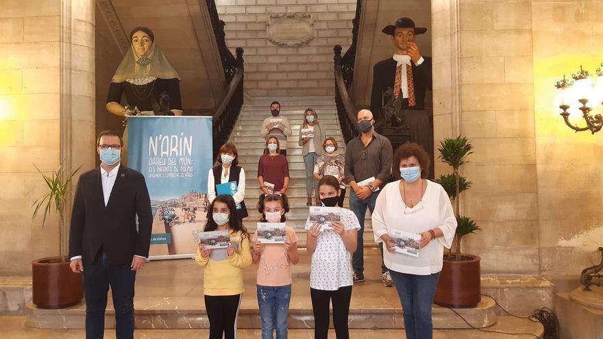 'Arín arreu del món', un cuento infantil para luchar contra el coronavirus en los colegios