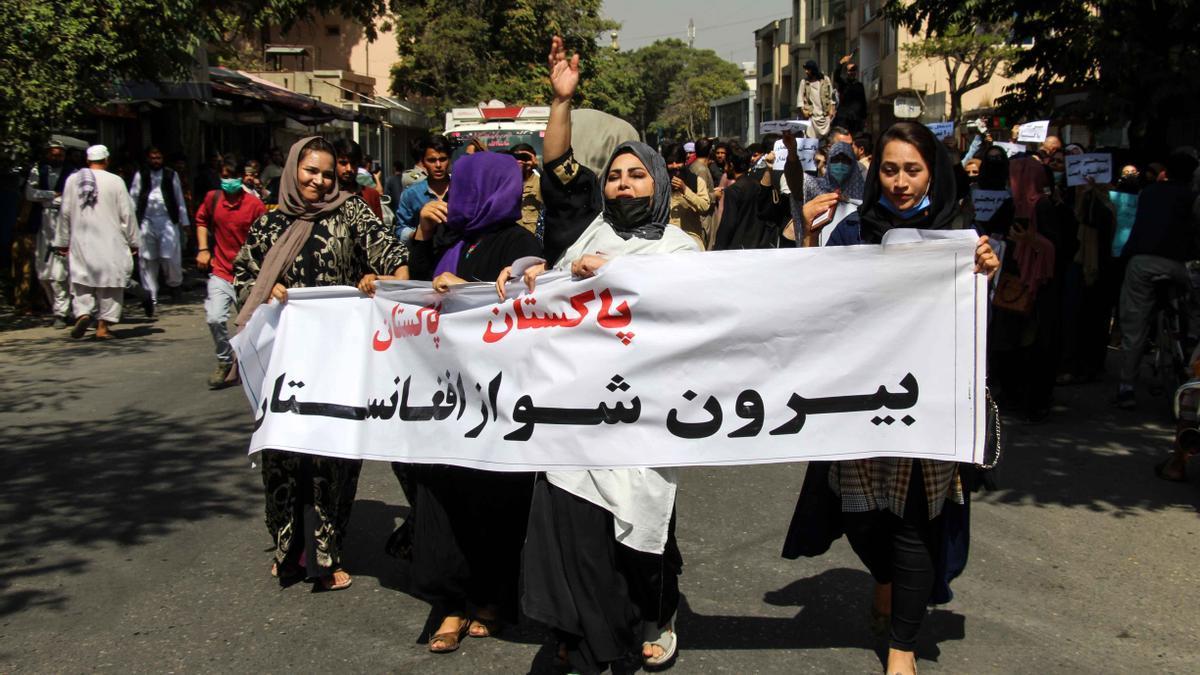 Las activistas afganas, candidatas al Sájarov a la libertad de conciencia.
