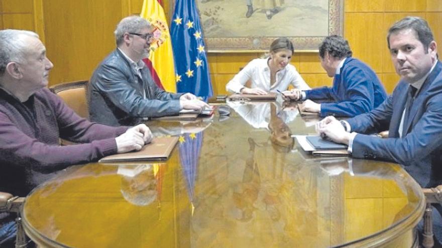 Acuerdo para prorrogar los ERTE hasta el 31 de mayo