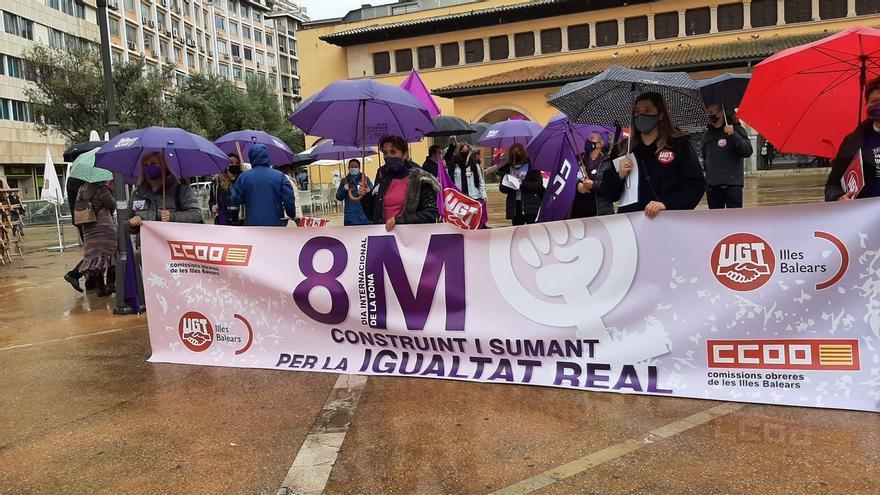 Las mujeres sindicalistas reclaman en Palma políticas de igualdad