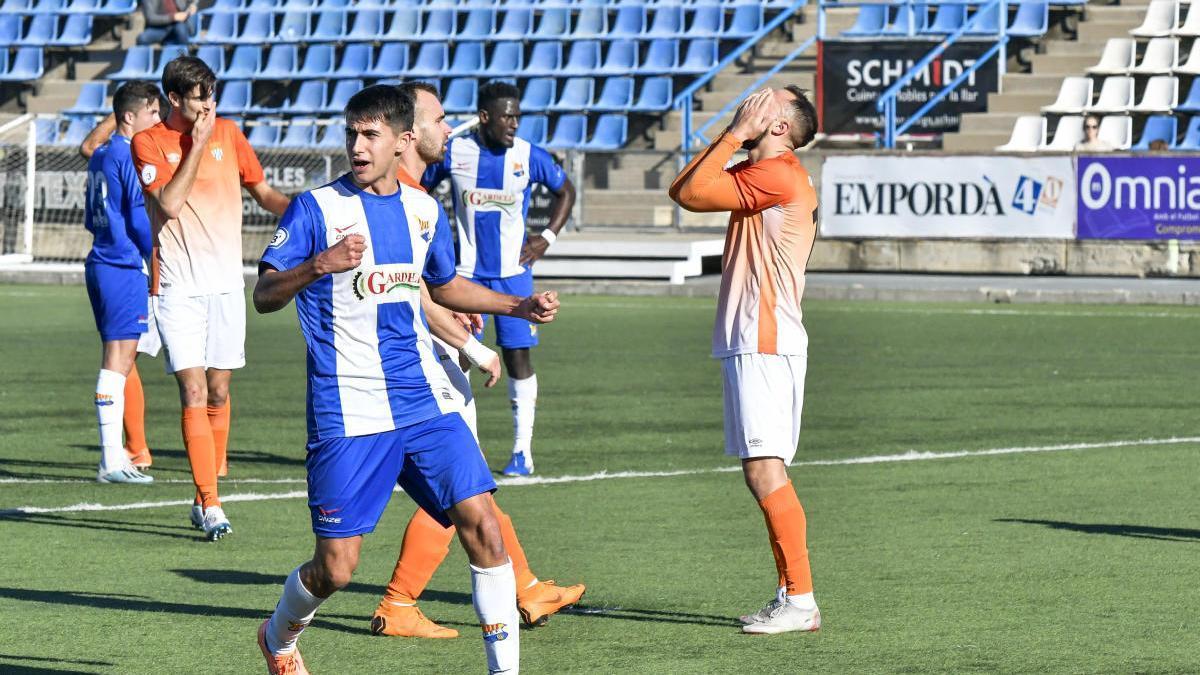 Un positiu en covid-19 obliga a ajornar el Grama-Figueres de Tercera Divisió