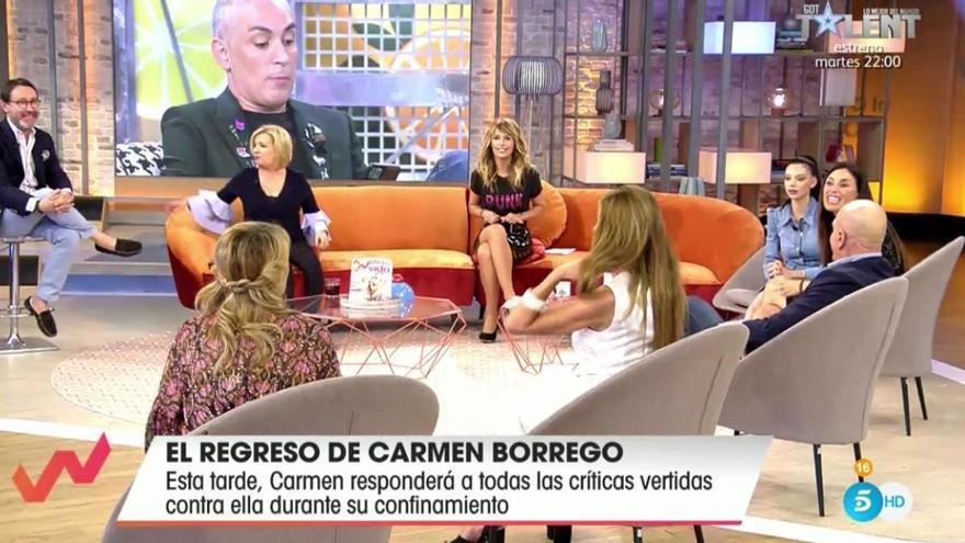 La peor noche de una colaboradora de Telecinco: de madrugada denunciando en un cuartel de la Guardia Civil