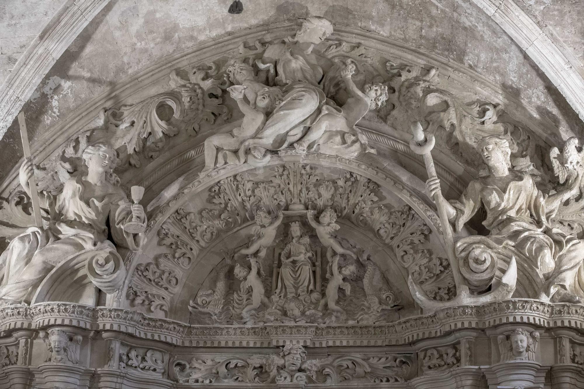 Visitas en la catedral dirigidas por dos historiadoras destacando el papel de la mujer en la iglesia por el 8M