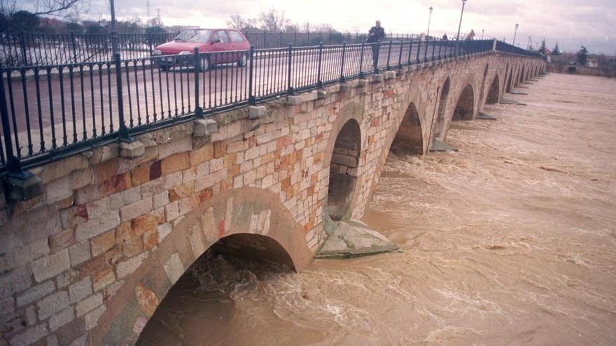La CHD amplía  las zonas inundables de Zamora en los nuevos mapas