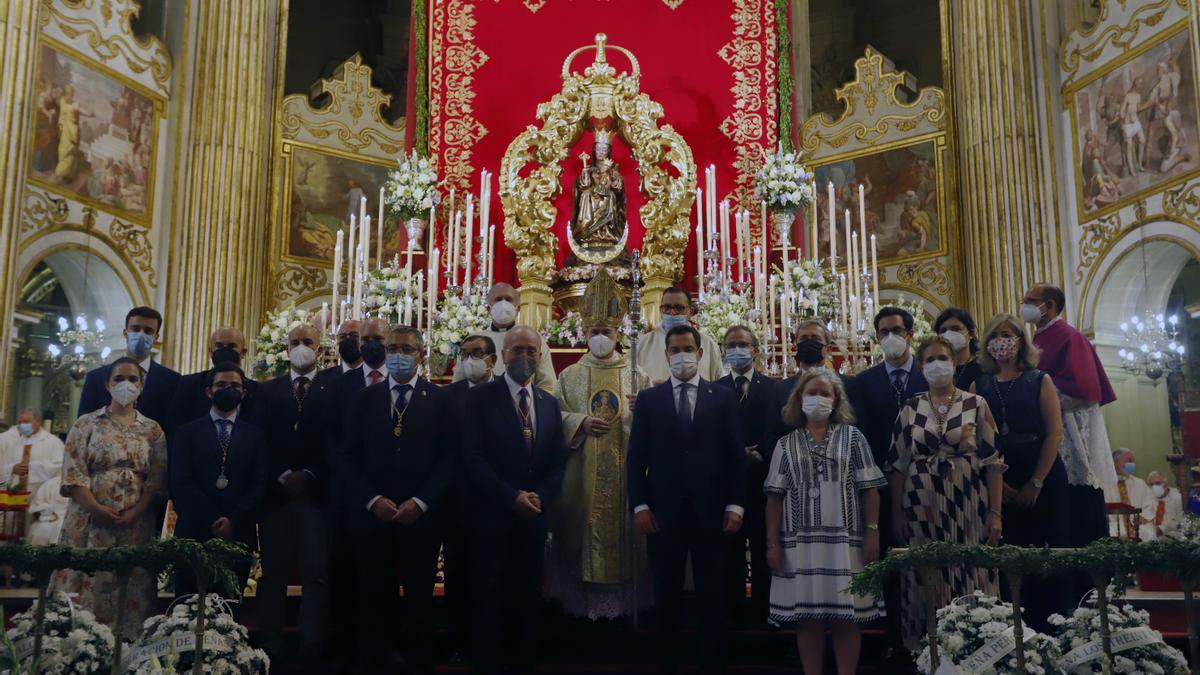 Misa solemne en honor a la Virgen de la Victoria
