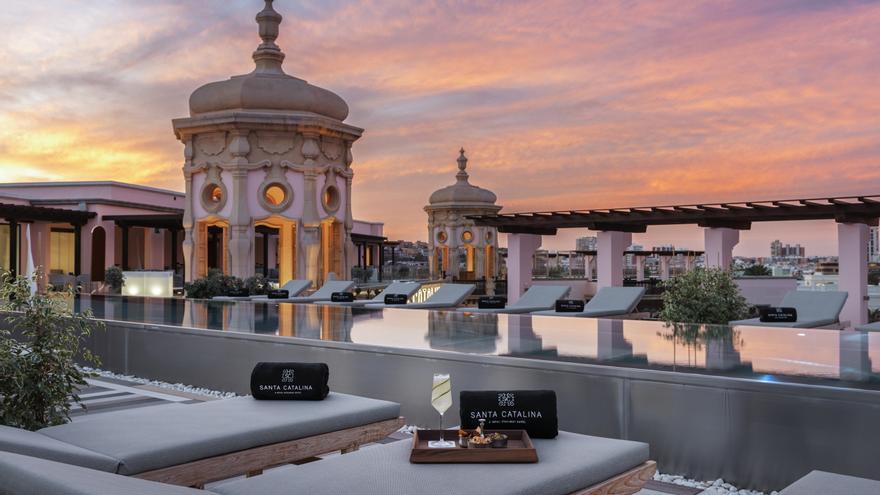 LPA Estación ofrece boleros y cena en la terraza del Hotel Santa Catalina