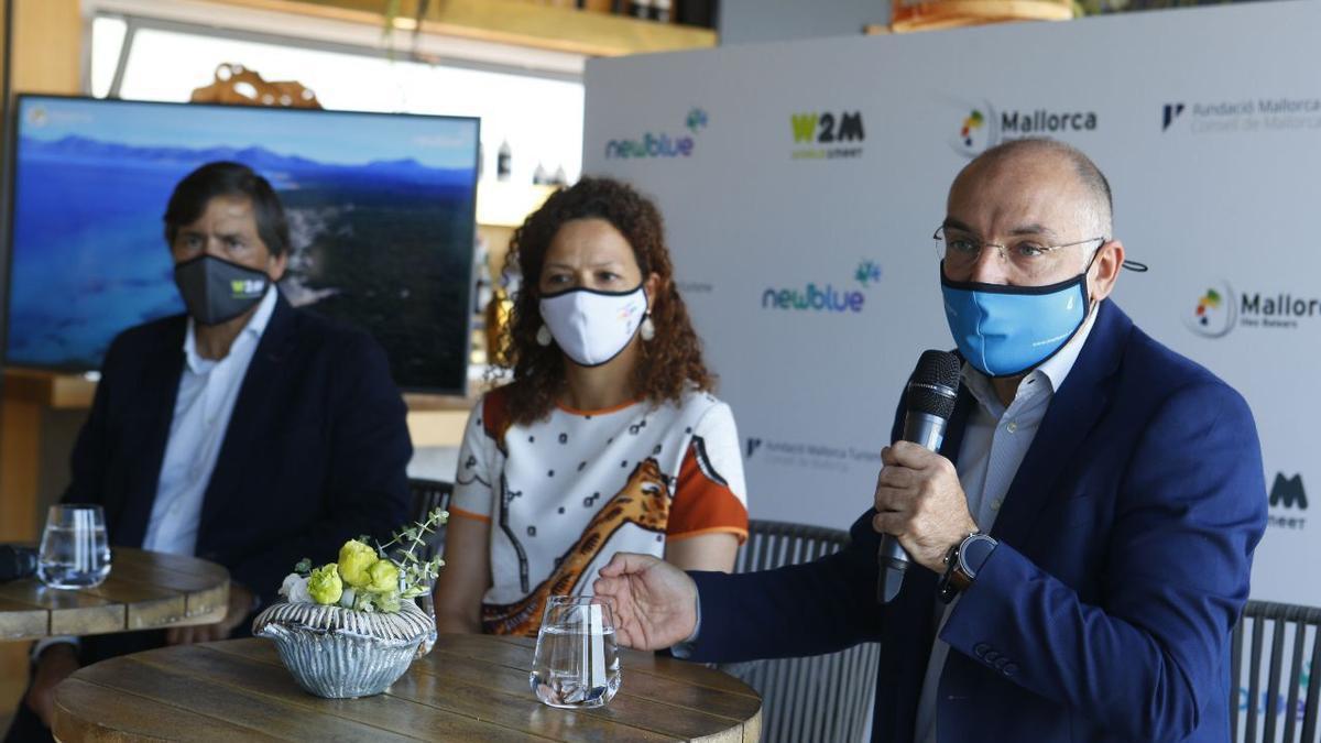De dcha. a izq.: Andreu Serra, Catalina Cladera y Gabriel Subías