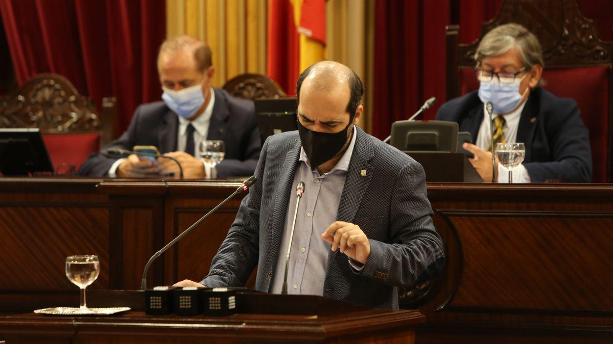 Alejandro López, de Podemos