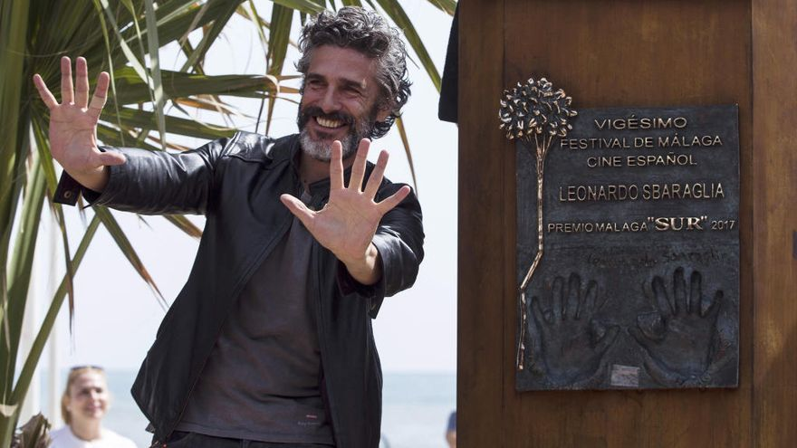Leonardo Sbaraglia y Laia Costa comparten secretos en 'Nieve negra'