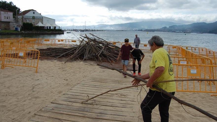 Redondela veta las hogueras de San Xoán ante el riesgo de aglomeraciones