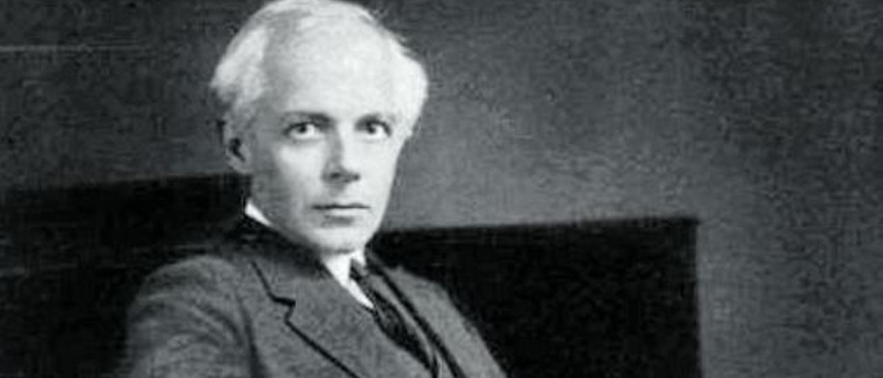 El compositor húngaro Béla Bartók,  en una fotografía de 1927.