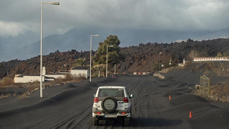 Las cenizas de La Palma cubrirían el 27% del área metropolitana de Tenerife