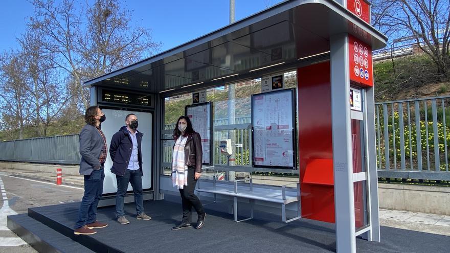 El diseño exclusivo de las futuras paradas de la EMT de València