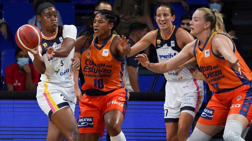 Hora y televisión de la final de la Supercopa LF Endesa entre el Valencia Basket y el Perfumerías Avenida