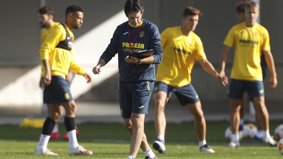Unai Emery, entrenador del Villarreal CF, quiere evitar la velocidad y las rápidas transiciones del Atalanta.